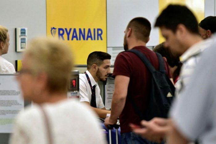Καλοκαίρι 2020: 14 νέα δρομολόγια από και προς Ελλάδα της Ryanair
