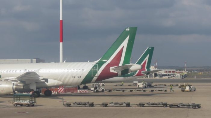 Rome airport tests pioneering eco-friendly tarmac