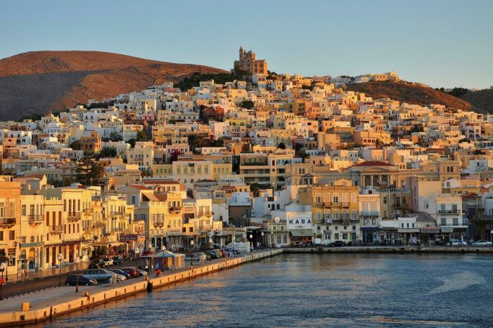 The accidental hotelier: how I quit economics in London for a new life on a Greek island